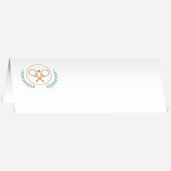 Marque-place mariage Note partie de Tennis réf.N440433