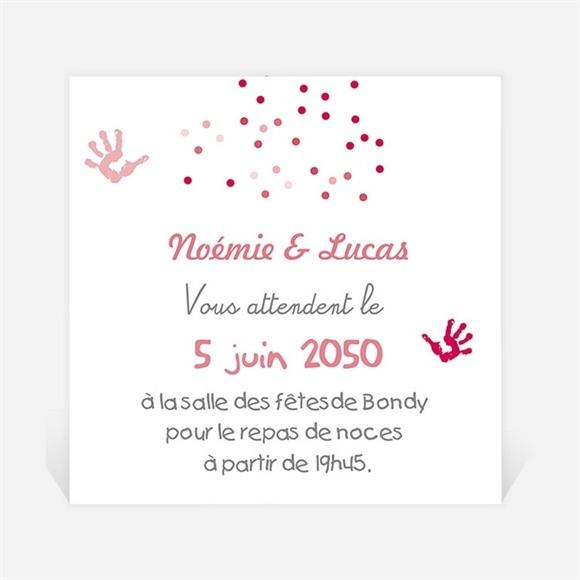 Carton d'invitation mariage Un air de Vacances réf.N300707