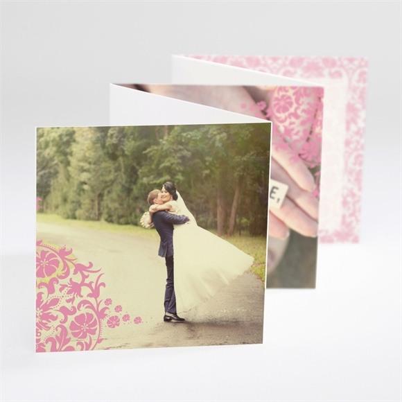 Remerciement mariage Motifs baroques réf.N80073