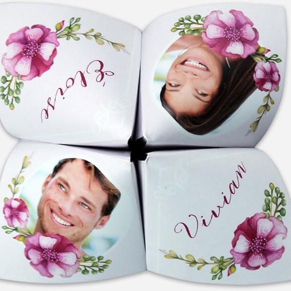 Faire-part mariage Belle romance réf.N33012