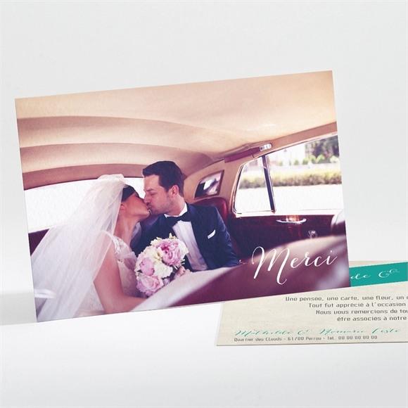 Remerciement mariage Mongolfiere vintage réf.N11177