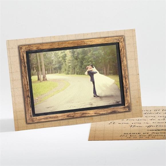 Remerciement mariage A la craie A jamais réf.N11181