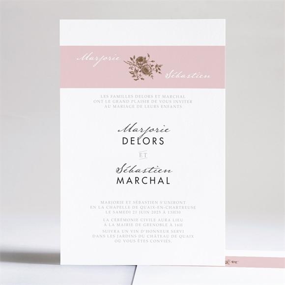 Faire-part mariage Annonce classique réf.N241106