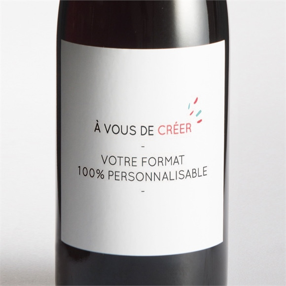 Etiquette de bouteille mariage réf. N300788 réf.N300788