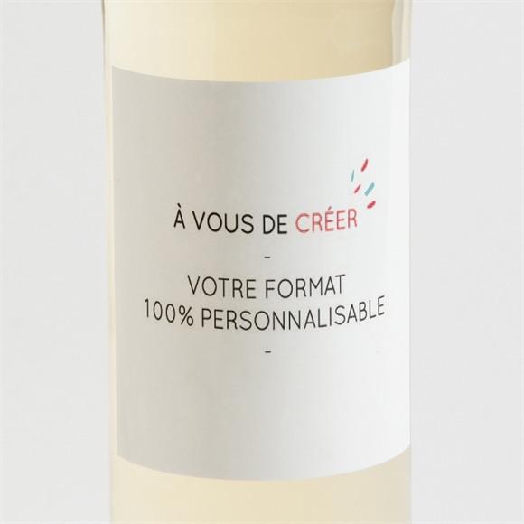 Etiquette de bouteille communion réf. N300791 réf.N300791