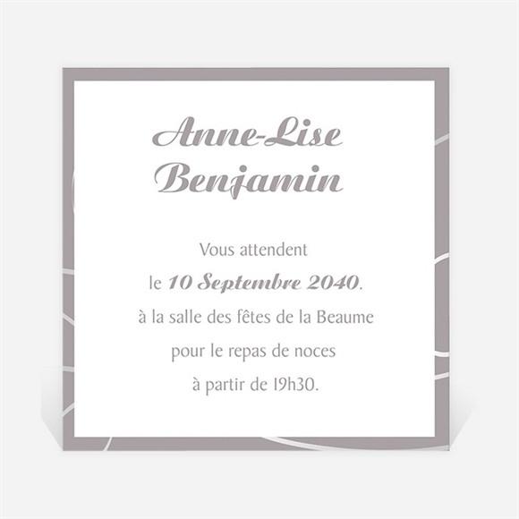 Carton d'invitation mariage Notre Danse réf.N300813