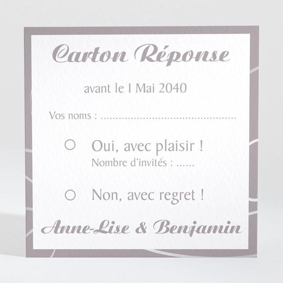 Carton réponse mariage Notre Danse réf.N300814