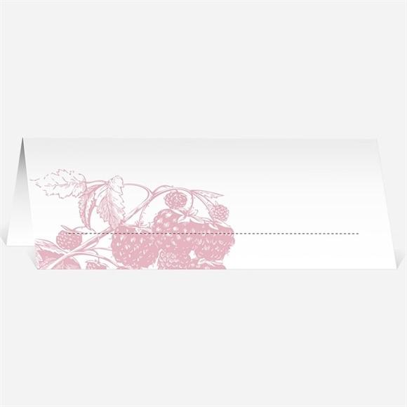 Marque-place mariage Carte gourmande et raffinée réf.N440472