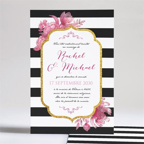 Faire-part mariage Original et baroque réf.N241109