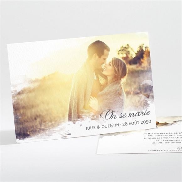 Faire-part mariage Tendresse photo réf.N11187