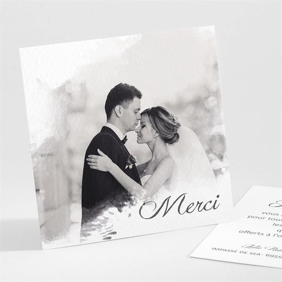 Remerciement mariage Tendresse photo réf.N30122