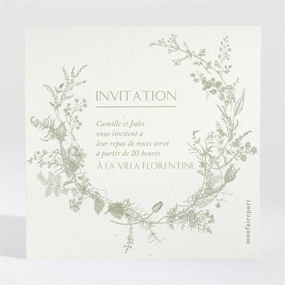 Carton d'invitation mariage Arbre de coeurs réf.N300840