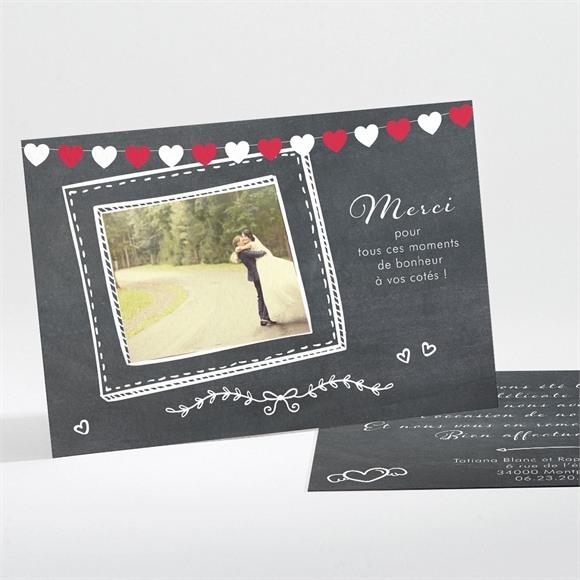 Remerciement mariage Photobooth réf.N11196