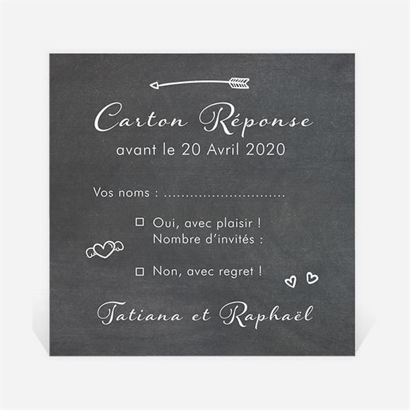 Carton réponse mariage Photobooth réf.N300865