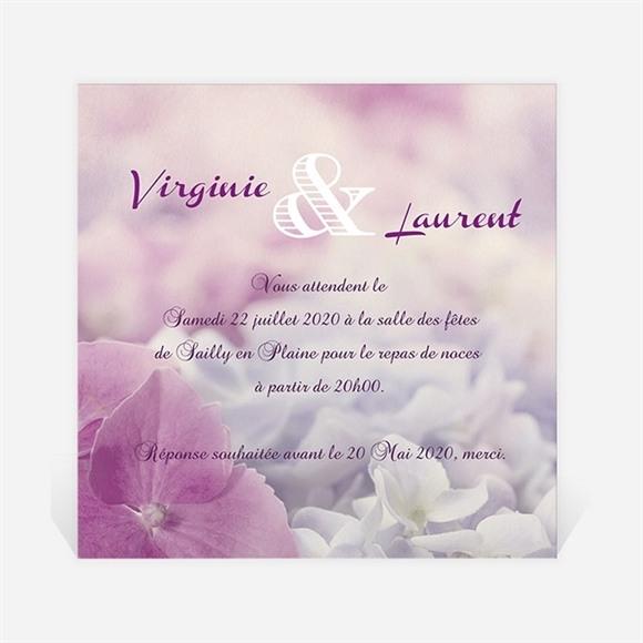 Carton d'invitation mariage Eclosion réf.N300903