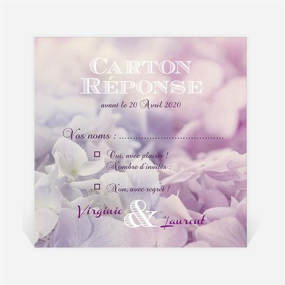 Carton réponse mariage Eclosion réf.N300904