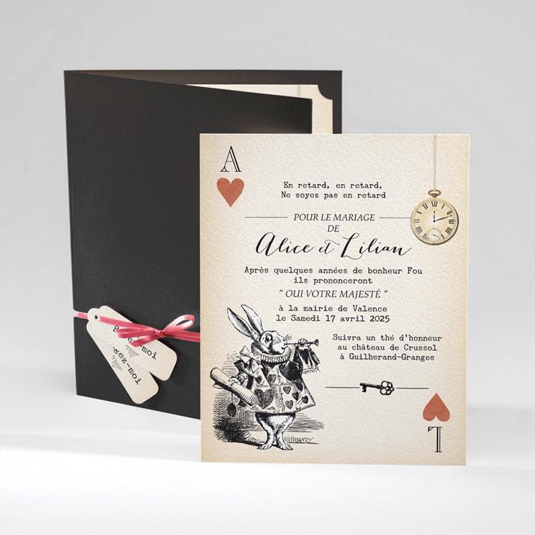 Faire-part mariage Atout Coeur réf.N92006