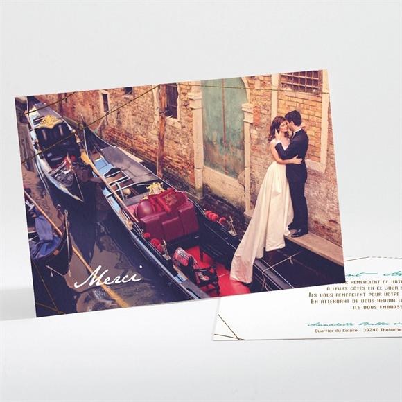 Remerciement mariage Papillon photo original réf.N111106