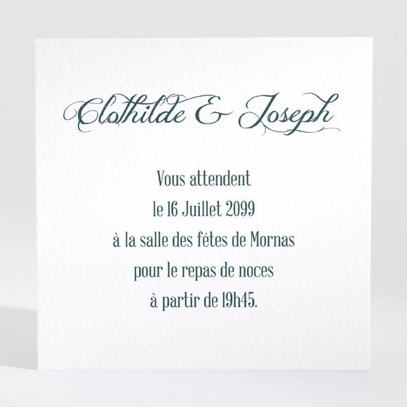 Carton d'invitation mariage Harmonie réf.N300920