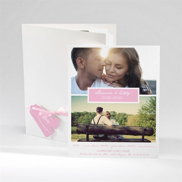 Faire-part mariage Nos plus belles photos réf.N92011