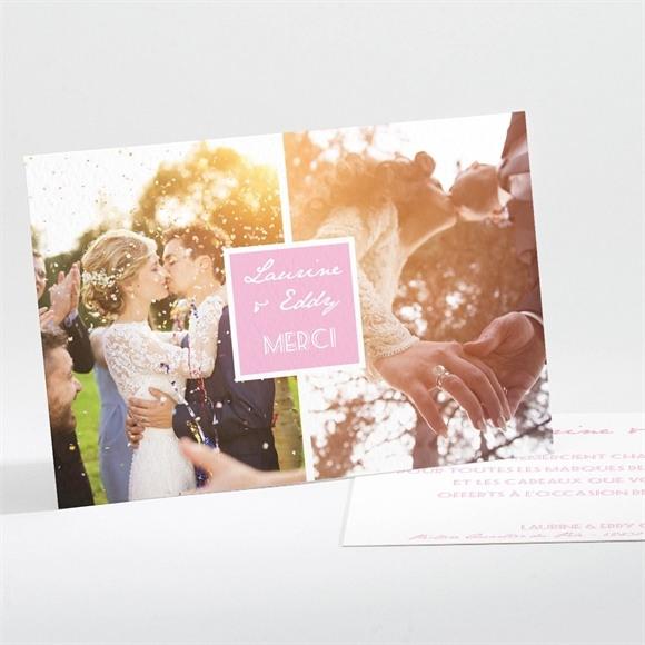 Remerciement mariage Nos plus belles photos réf.N111110