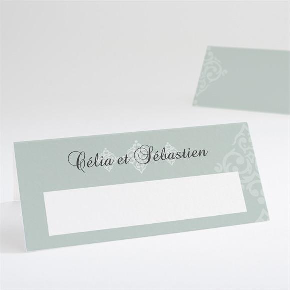 Marque-place mariage Simple et raffiné réf.N440512