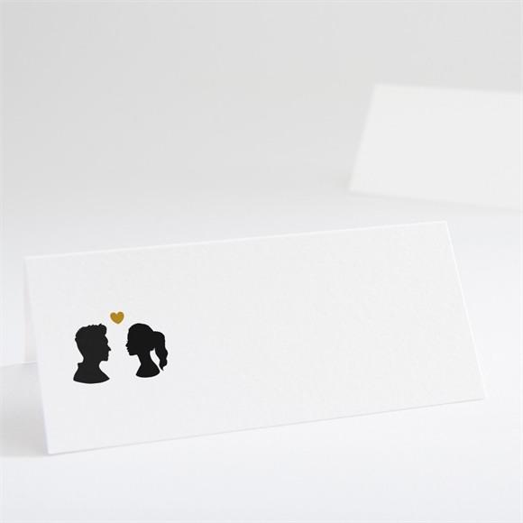 Marque-place mariage Profils élégants réf.N440517