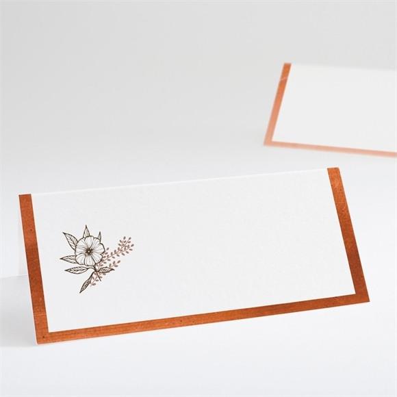 Marque-place mariage Fleurs séchées réf.N440516