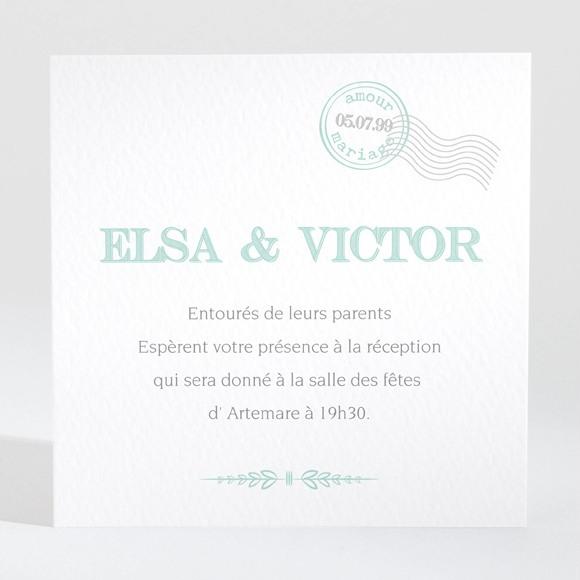 Carton d'invitation mariage On s'envole réf.N300959