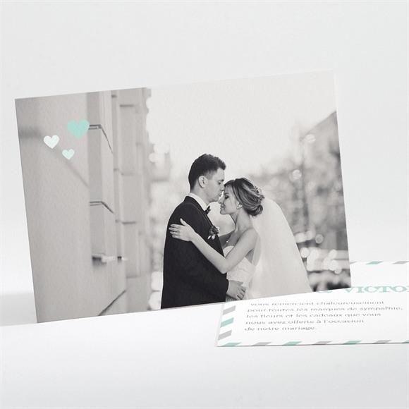 Remerciement mariage On s'envole réf.N111115