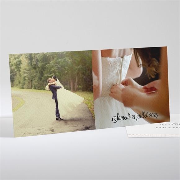 Remerciement mariage Joli coquelicot réf.N13150