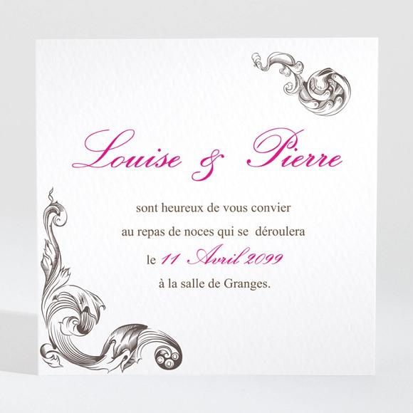 Carton d'invitation mariage So British réf.N300977