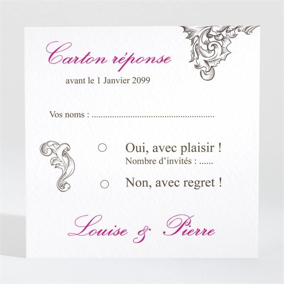 Carton réponse mariage So British réf.N300978