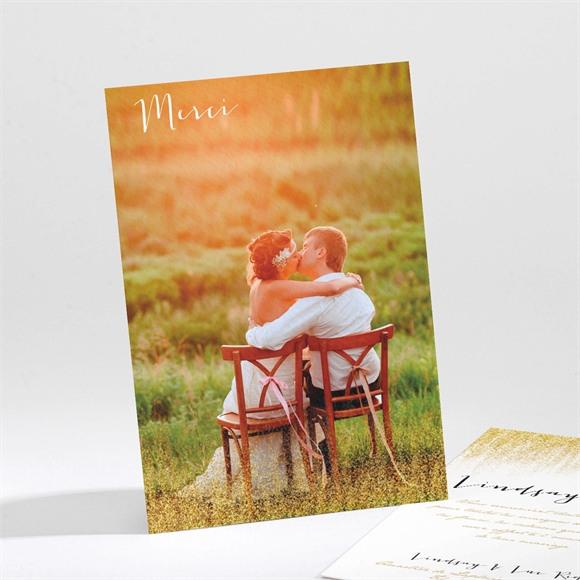 Remerciement mariage Pluie d'or réf.N211102