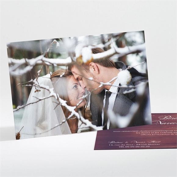 Remerciement mariage La pomme de l'amour éternel... réf.N111117