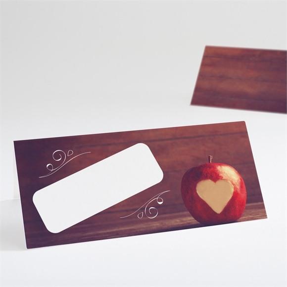 Marque-place mariage La pomme de l'amour éternel... réf.N440529