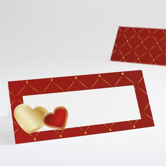 Marque-place mariage Romantique et festif réf.N440530