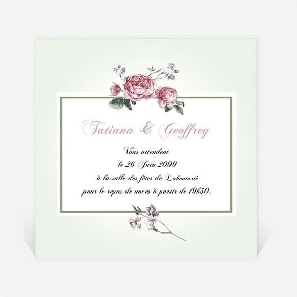 Carton d'invitation mariage Garden Party réf.N3001025