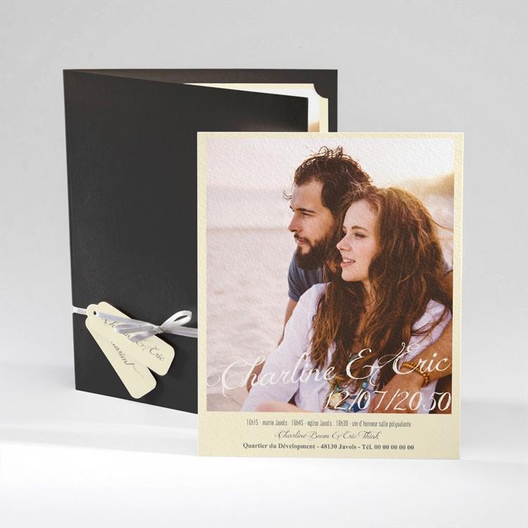 Faire-part mariage Annonce en Grande photo réf.N92031