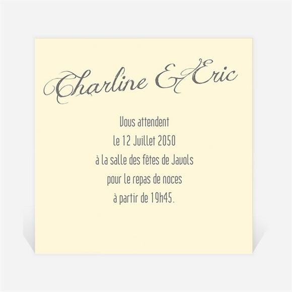 Carton d'invitation mariage Annonce en Grande photo réf.N3001031