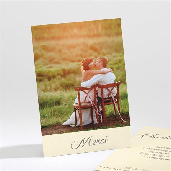 Remerciement mariage Annonce en Grande photo réf.N211106