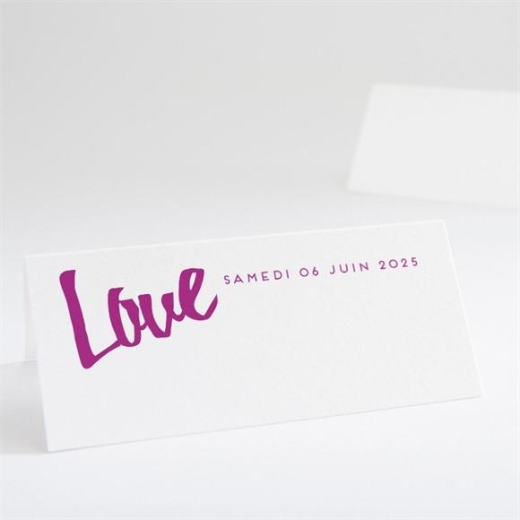 Marque-place mariage Notre Mariage réf.N440548