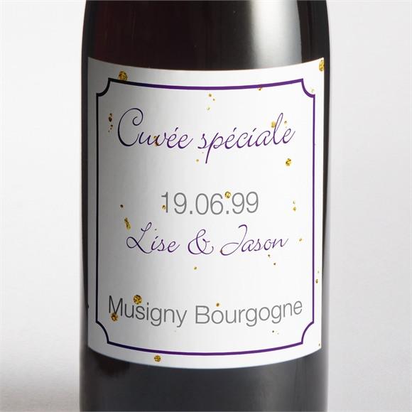 Etiquette de bouteille mariage réf. N3001057 réf.N3001057