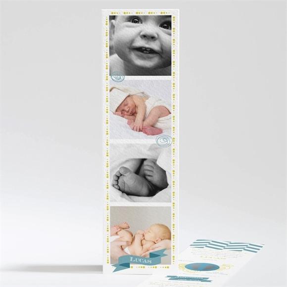 Faire-part naissance Un photomaton Surprise réf.N20119