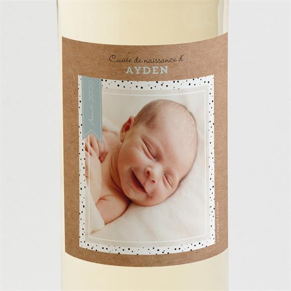 Etiquette de bouteille naissance Cocotte en folie ! réf.N3001085