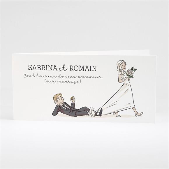 Faire-part mariage Mariage original en humour réf.N43145