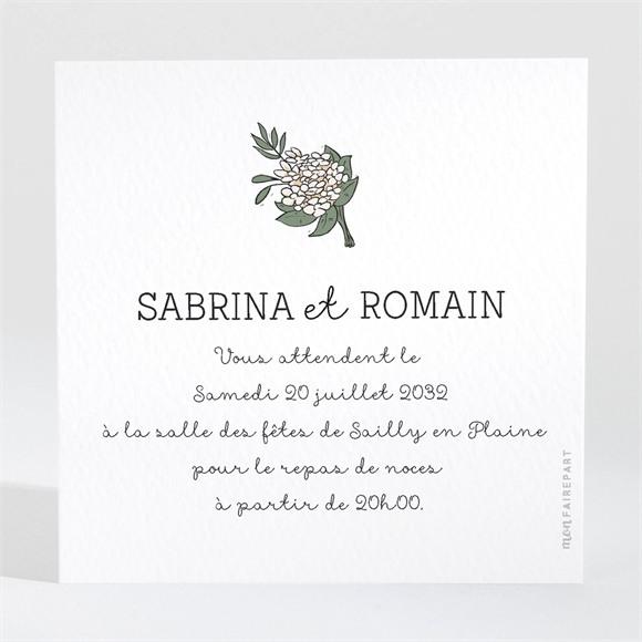 Carton d'invitation mariage Mariage original en humour réf.N3001116