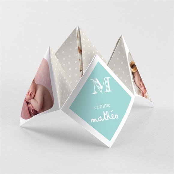 Faire-part naissance Petits pieds et petites mains réf.N33037