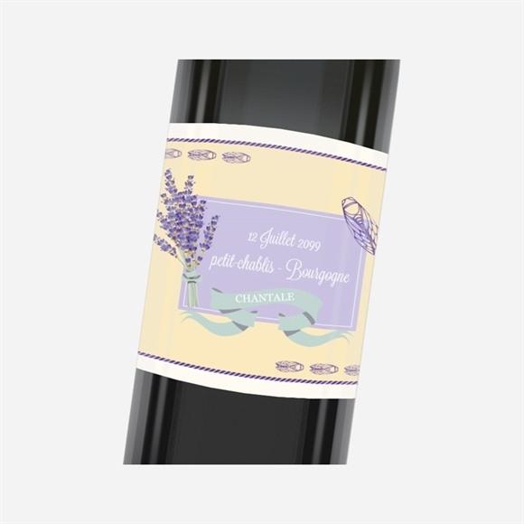Etiquette de bouteille départ retraite Vive le Sud ! réf.N3001156