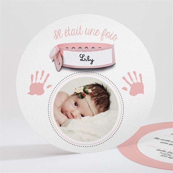 Faire-part naissance Belle Inscription photo réf.N32181